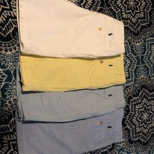 Four pair of Polo Shorts size 12. Good condition.